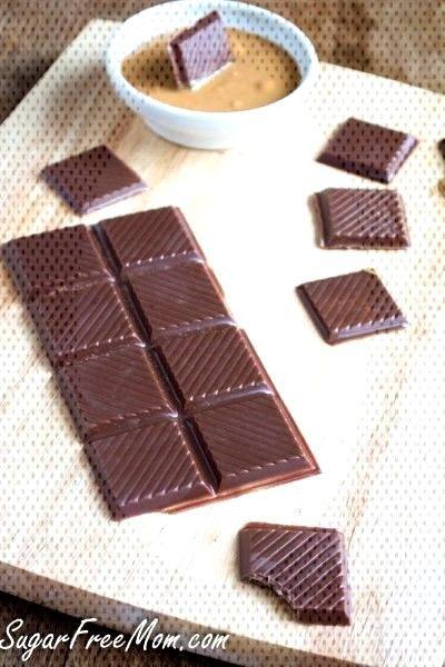 Sugar-Free Dark Chocolate Candy Bars Nut, Dairy amp Gluten Free -