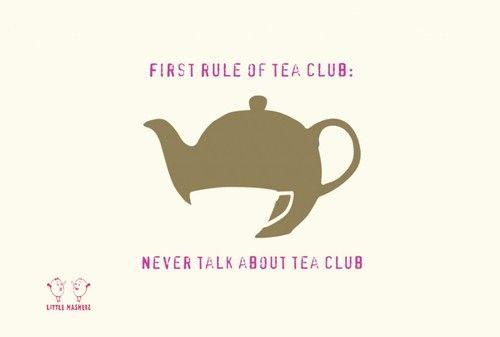 tea club <3