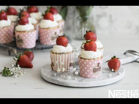 Photo of Strawberry and condensed milk muffins – Desserts La Lechera