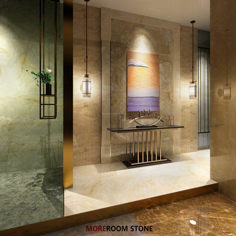 Dark Green Onyx Polished Marble Porcelain Floor Tile Wholesale For ...