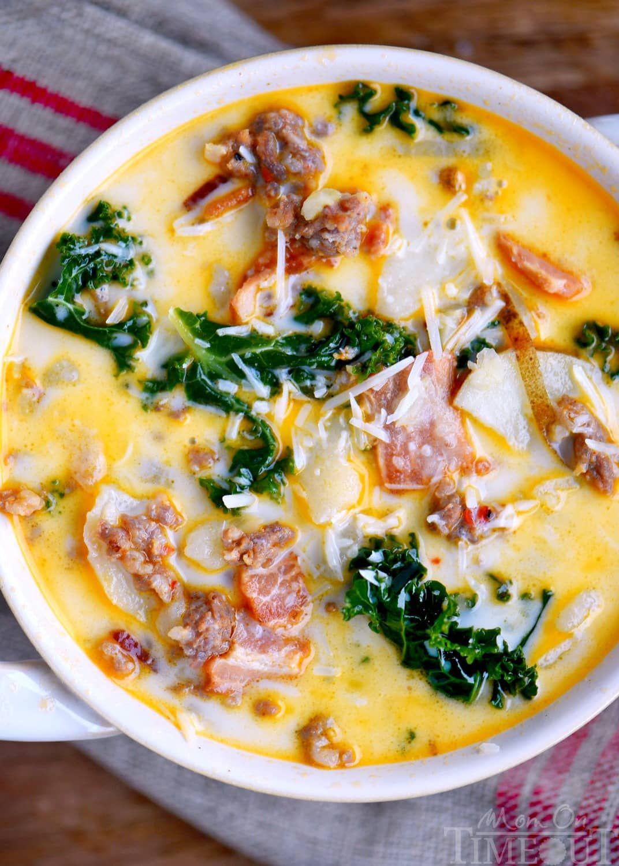 One Pot Olive Garden Zuppa Toscana Soup Toscana soup