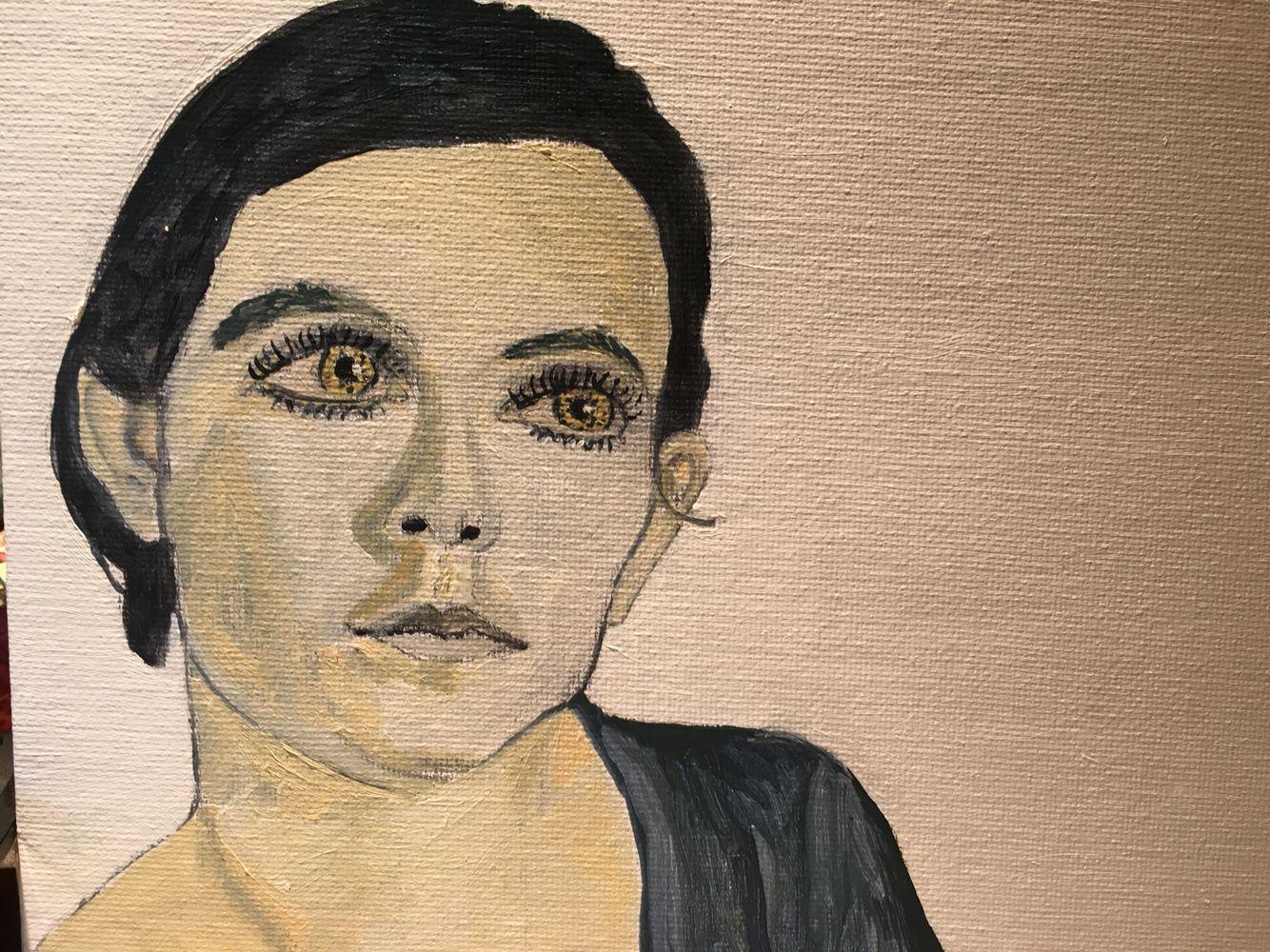 Oil portrait!