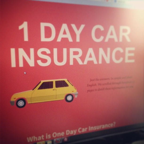 Http Carinsurance1day Net Car Insurance For A Day 1 Day Car