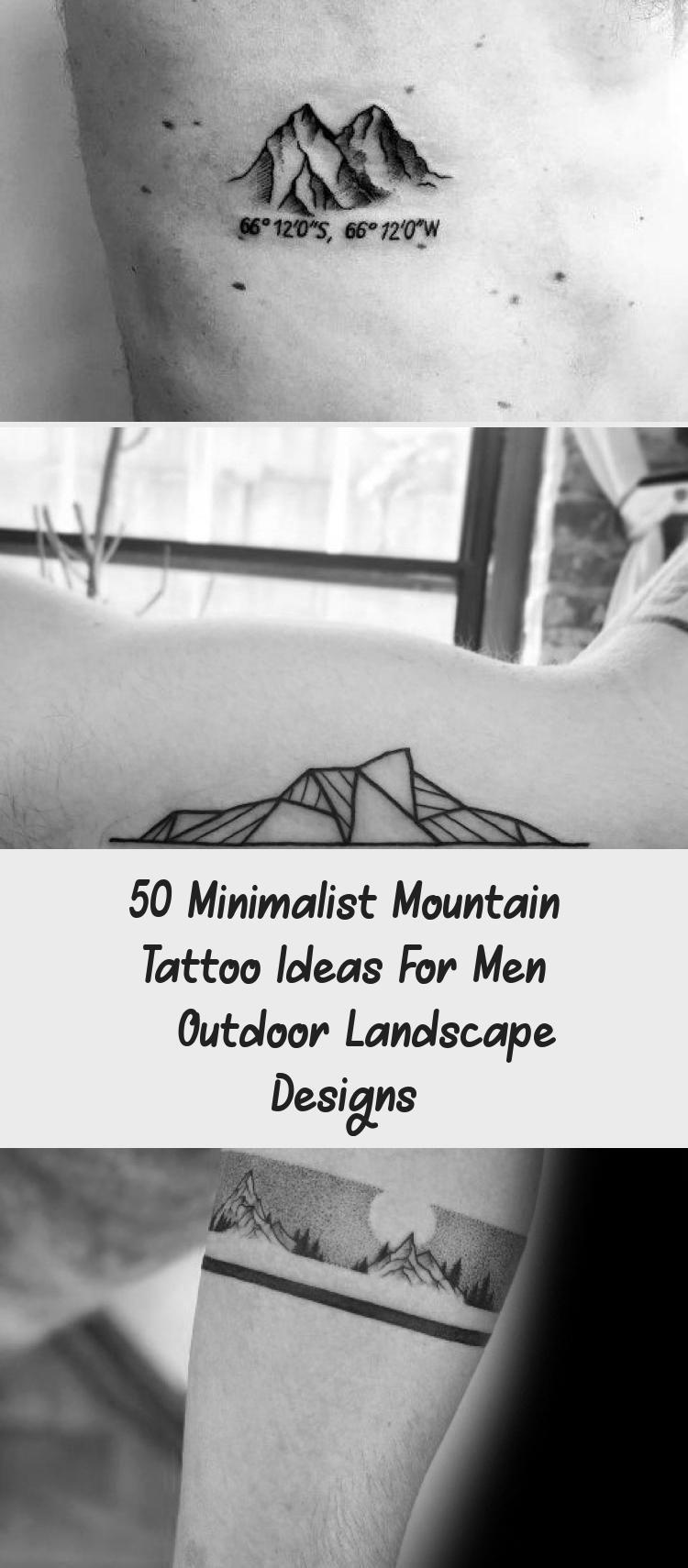 Photo of Amazing Mens Minimalist Mountain Tattoo Designs #minimalisttattooAnimal #minimal…