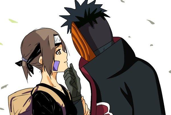 Obito Uchiha and Rin Nohara #Naruto Obirin   Obito ...