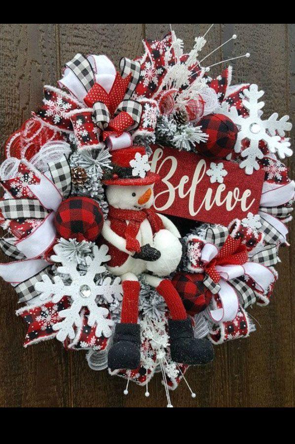 Photo of October 2018 Customer Wreaths & Centerpieces – Trendy Tree Blog  Holiday Decor I…