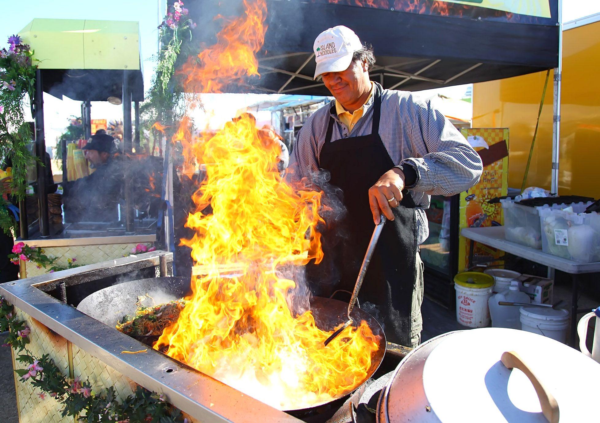 A fan favorite island noodles food truck festival
