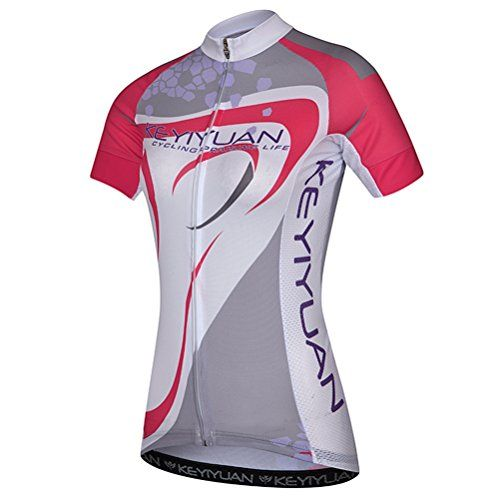 Uriah Womens Bicycle Jersey Short Sleeve With Back Zippered Bag