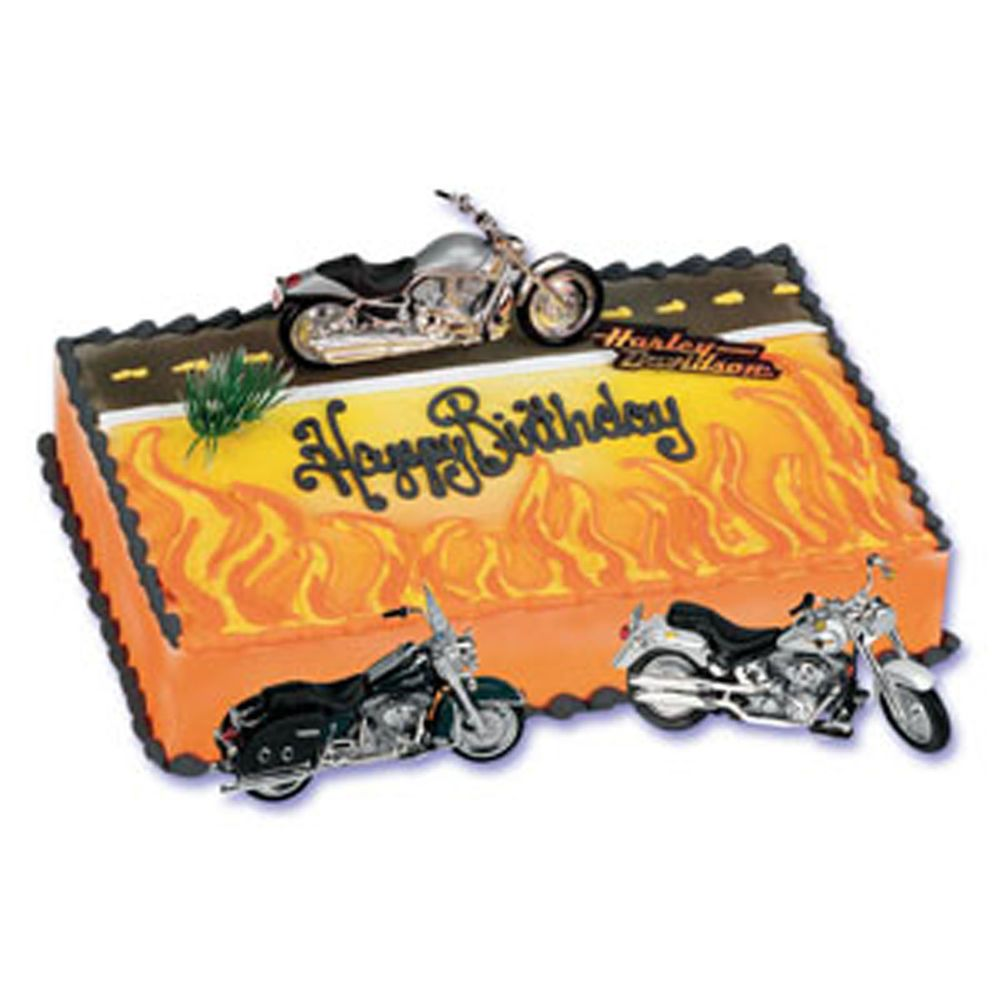 Harley Davidson Party Decorations Ebay Cake Decorations Salacelcom