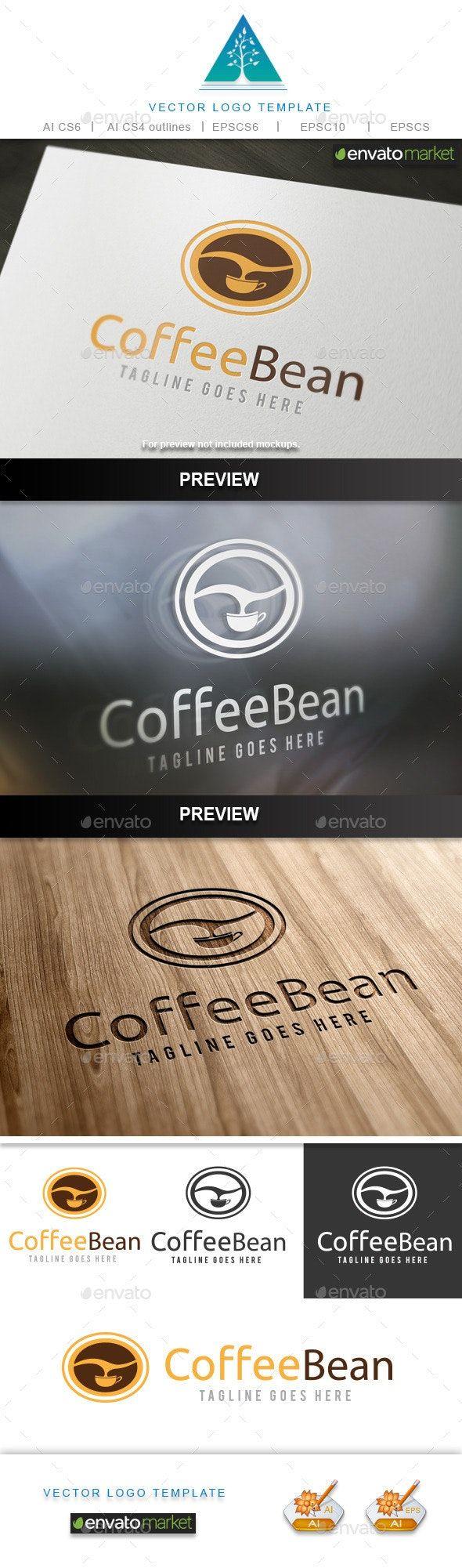 Coffee Bean AD Coffee, sponsored, Bean Coffee beans
