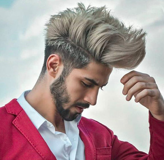 Mens Longhairstyles White Coloured Hairs Mens Menshairstyles Menshairstylelong Menahairstylemed Short Hair Haircuts Mens Hairstyles Medium Thick Hair Styles