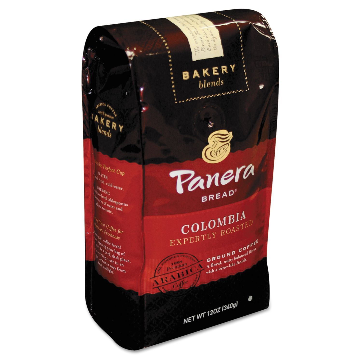Panera Bread Coffee Box Prepossessing Panera Bread Colombia Roast 12 Oz Bag Ground  My Favorite Things Inspiration