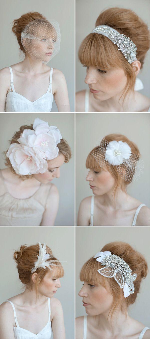 Wedding Head Pieces by Twigs & Honey | Wedding hair accessories ...