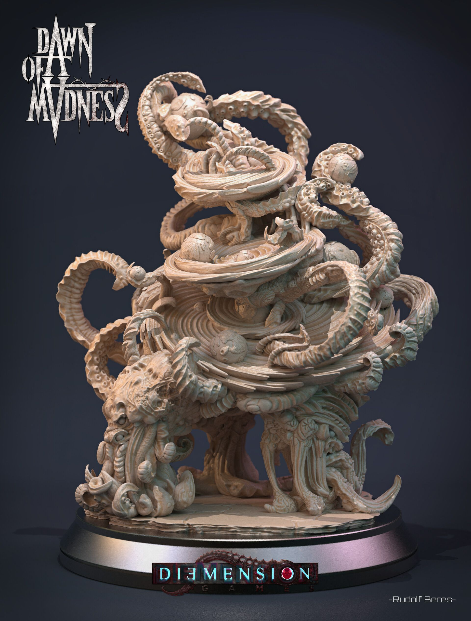 Dawn of Madness Statue Azathoth by Rudolf BéresDawn of