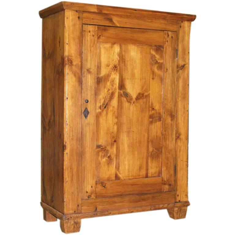 Rustic Cupboard Single Door Armoire Single Doors Cupboard Country Cupboard