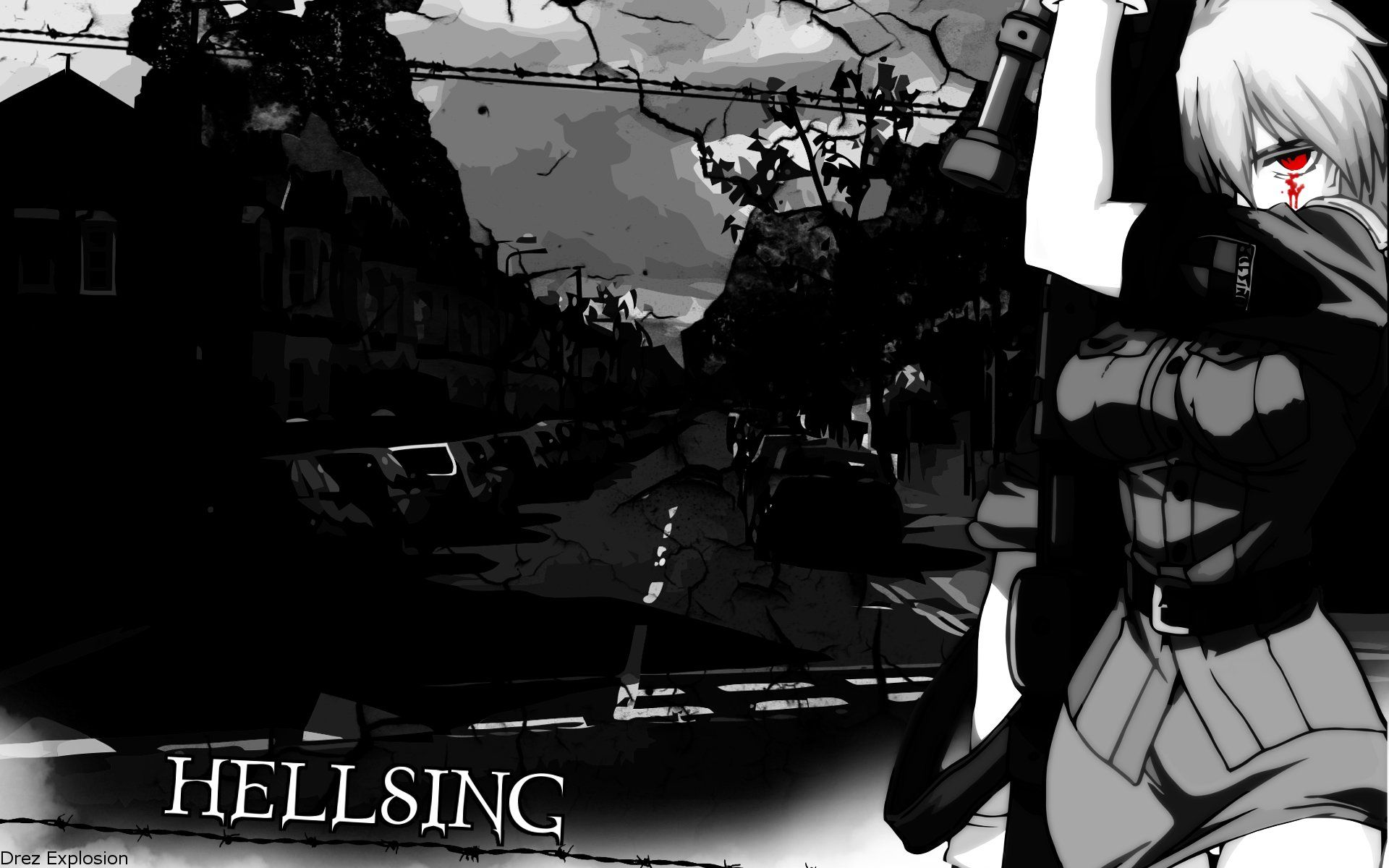 Gothic Anime Hd Wallpapers Cool Anime Wallpapers Anime Wallpaper Gothic Anime