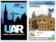Bringing architecture in the city alive!  UAR: is a layar application developed by Nai, Rotterdam