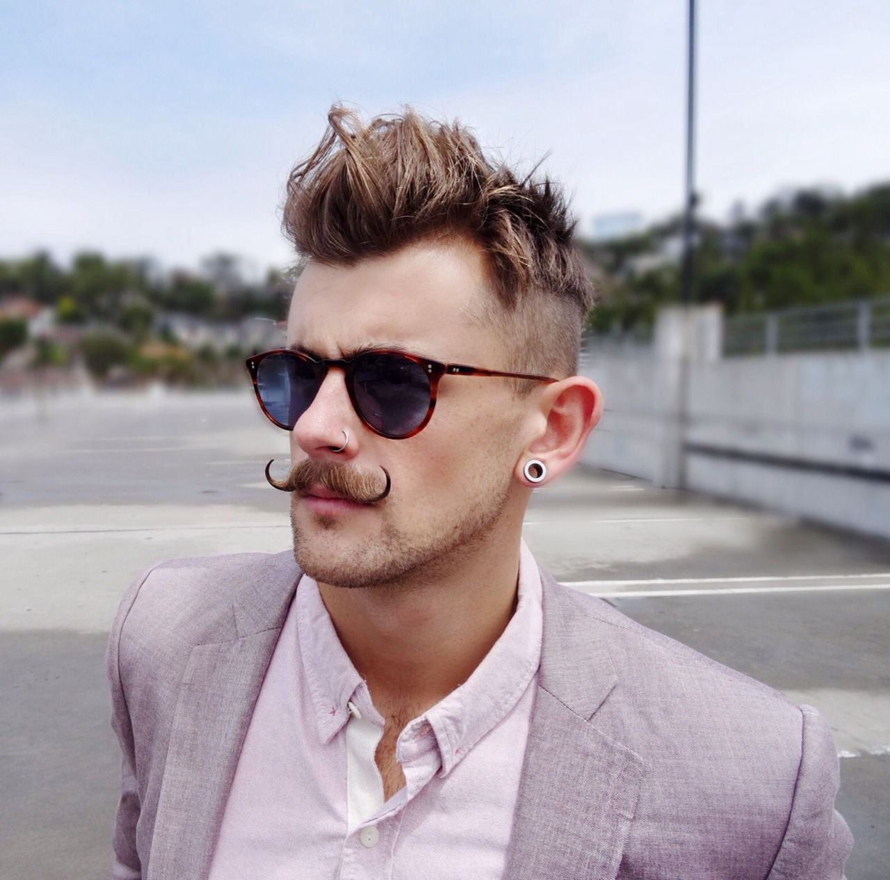 "menstyleblog: ""bangarangblog: ""in focus with Oliver Peoples sunglasses "" Follow us for more men's style inspiration!"""