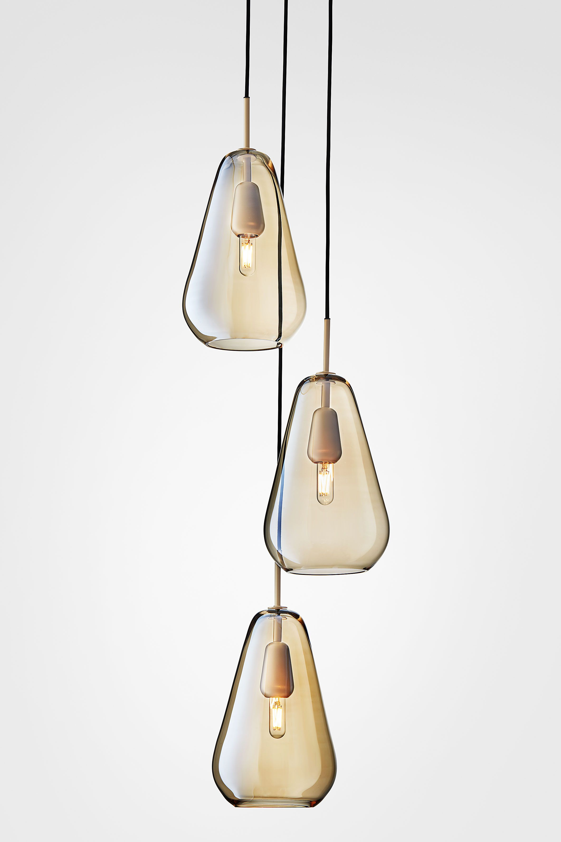 Anoli 3 By Nuura Elegant Droplets And Golden Warmth Are The