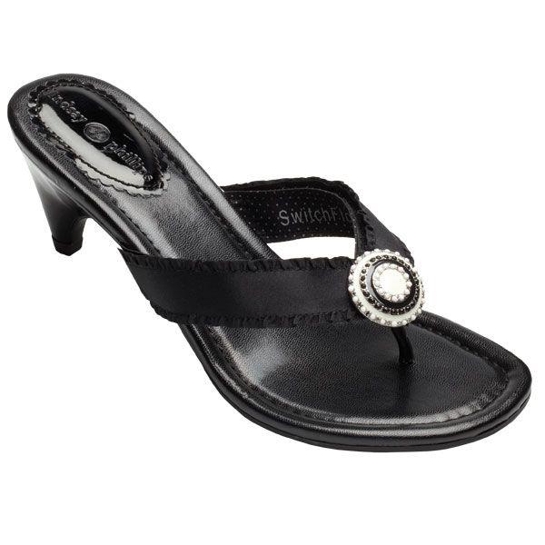 StrapShoes Sandy Black Kitten