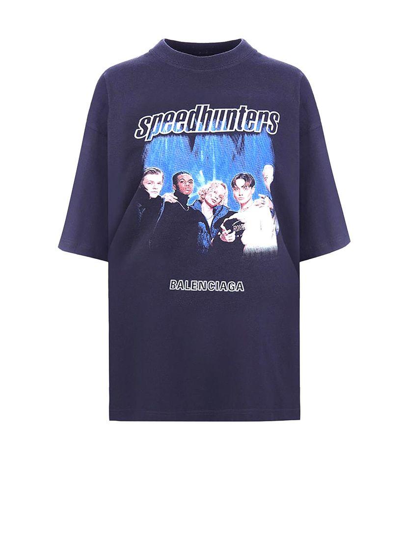 Balenciaga Speedhunters T恤 In Black
