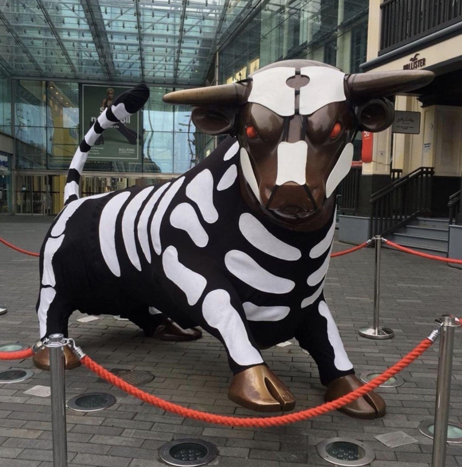 Birmingham Bull Halloween 2019. Birmingham Warwickshire