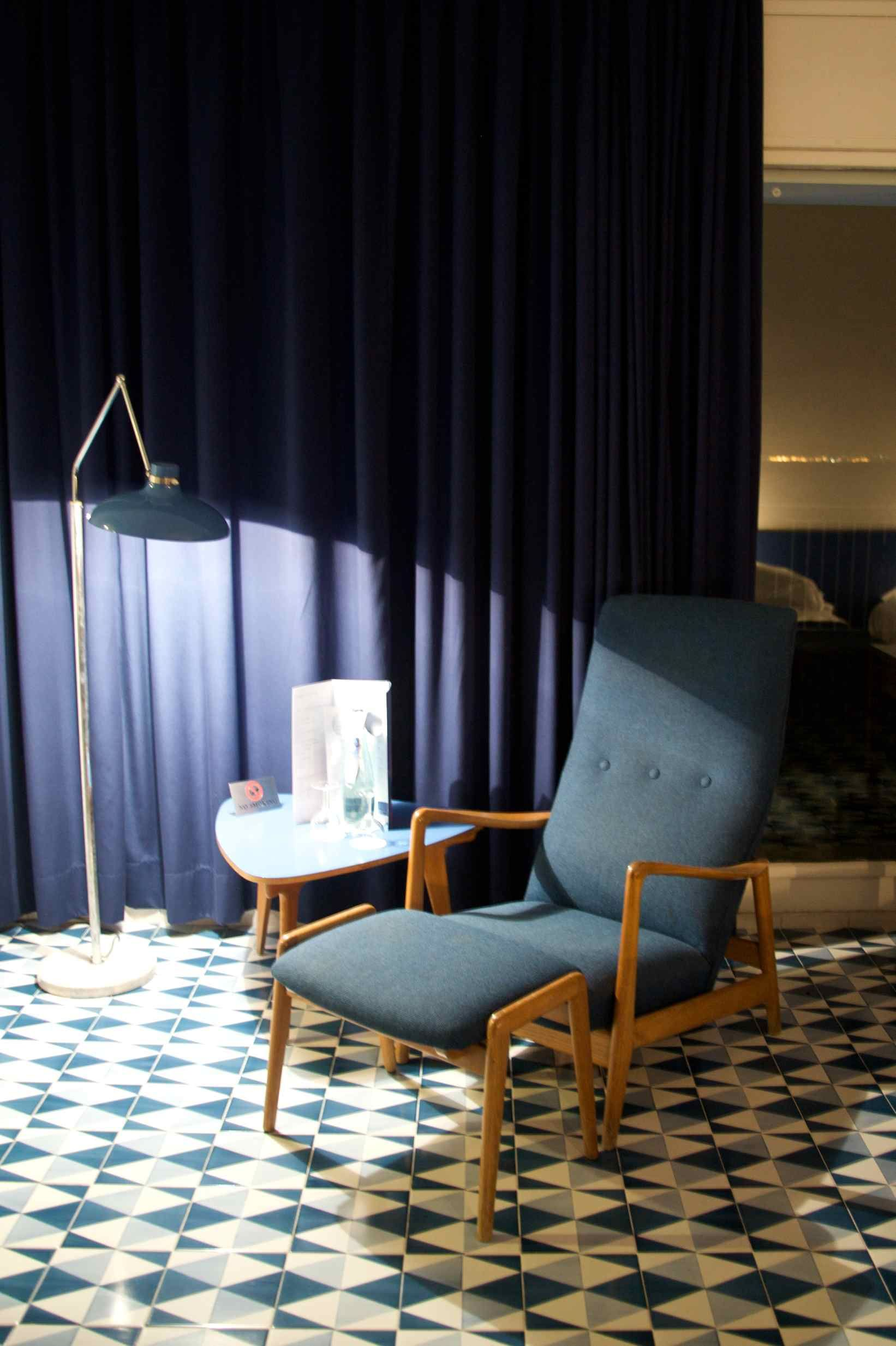 Inside The Room There Is A Great Reading Chair And Light At The Parco Dei  Principe