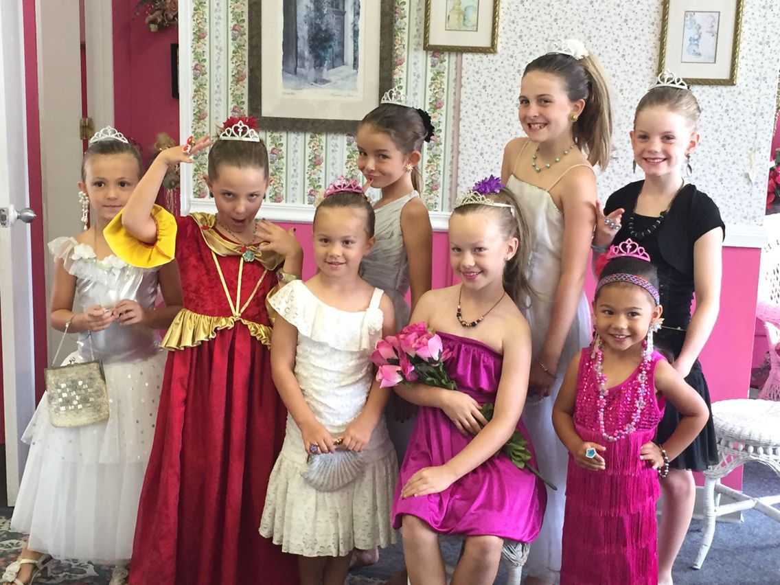 Princess Tea Party The Best Part Time Business For Moms Who Doesn T Like Throwing A