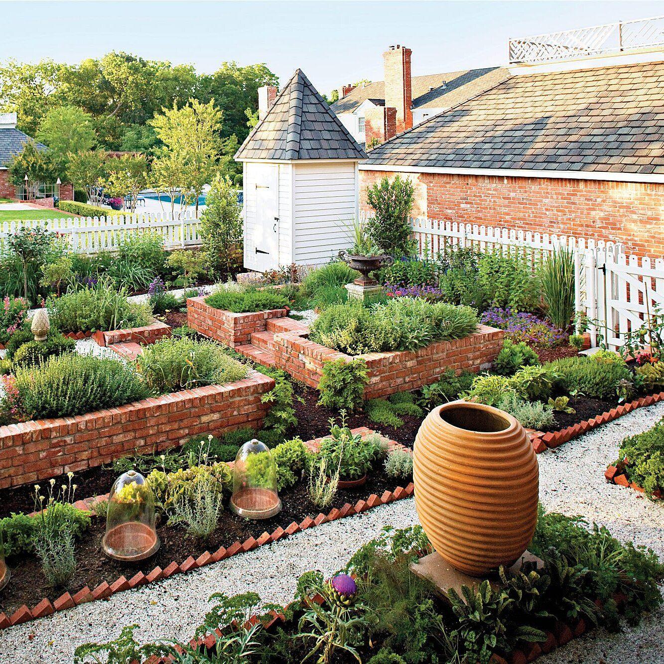 plant an eco friendly kitchen garden in 2020 kitchen garden garden pavers brick raised on kitchen garden id=28005
