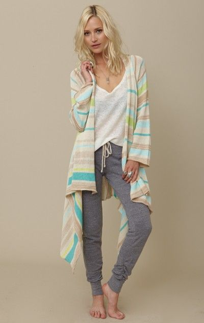 super cute & comfy loungewear #lounging #relaxed #cozy #sweater #stripes # outfit #home #sweats | Lounge wear, Comfy fashion, Comfy outfits