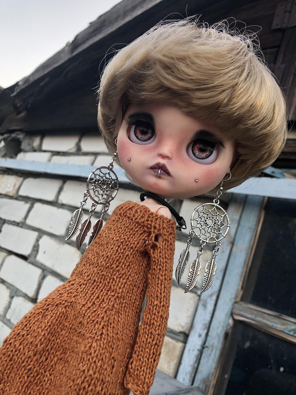 Gale. Custom Blythe doll with blond hair #dollcare