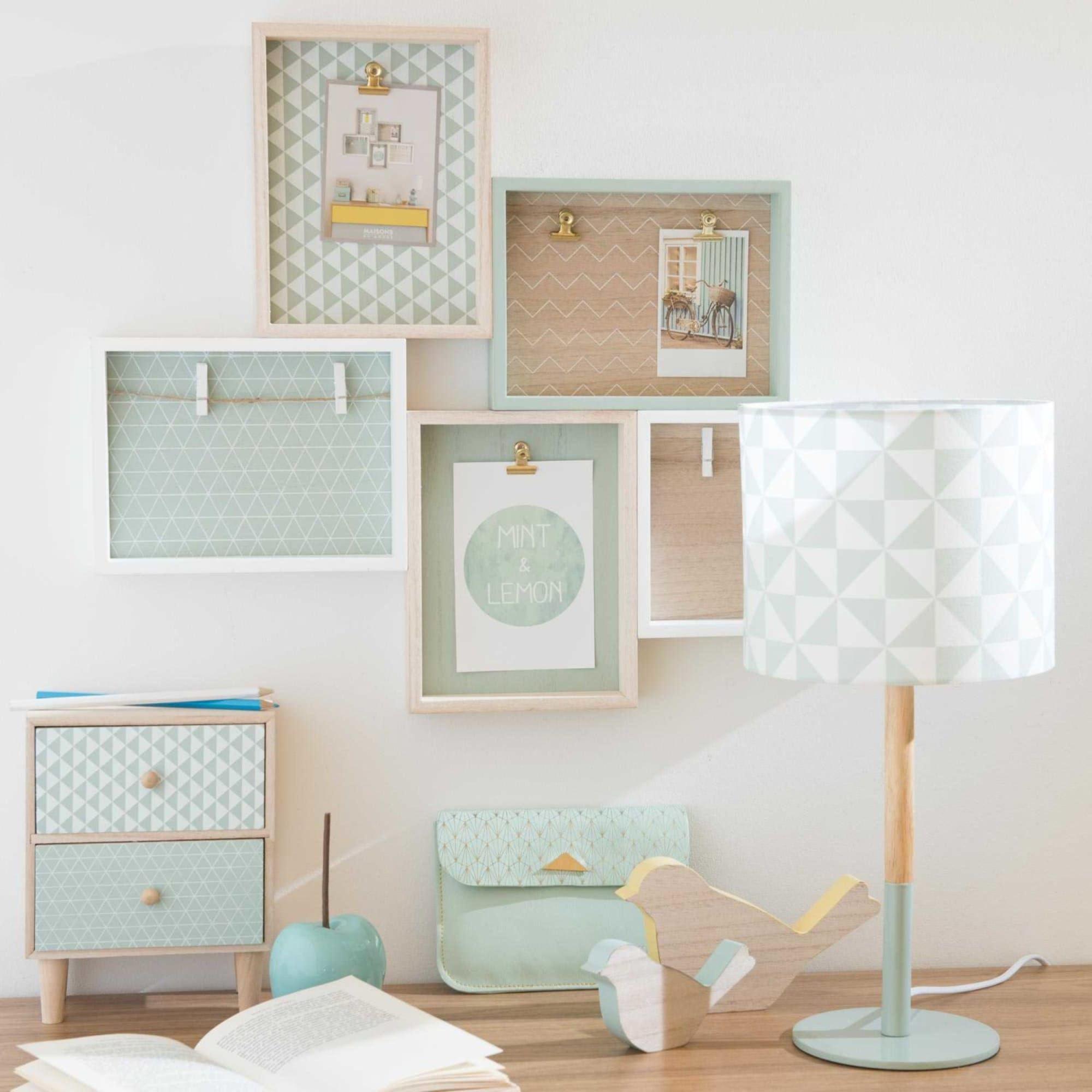 DekoObjekte Mintgrünes schlafzimmer, Zimmer einrichten