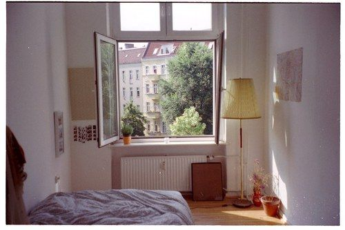 Imagem de room, window, and bed