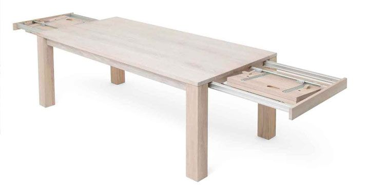 Extendable Dining Table Narrow Rectangular Dining Room Table