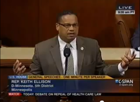 Representative Keith Ellison Co Chair Of Cpc Congressional