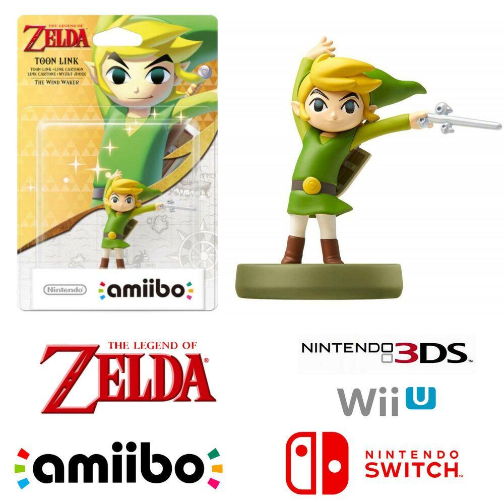 Details about Toon Link Legend Of Zelda Character Amiibo