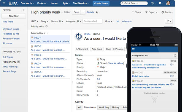 Issue  Project Tracking Software  Atlassian  Digital