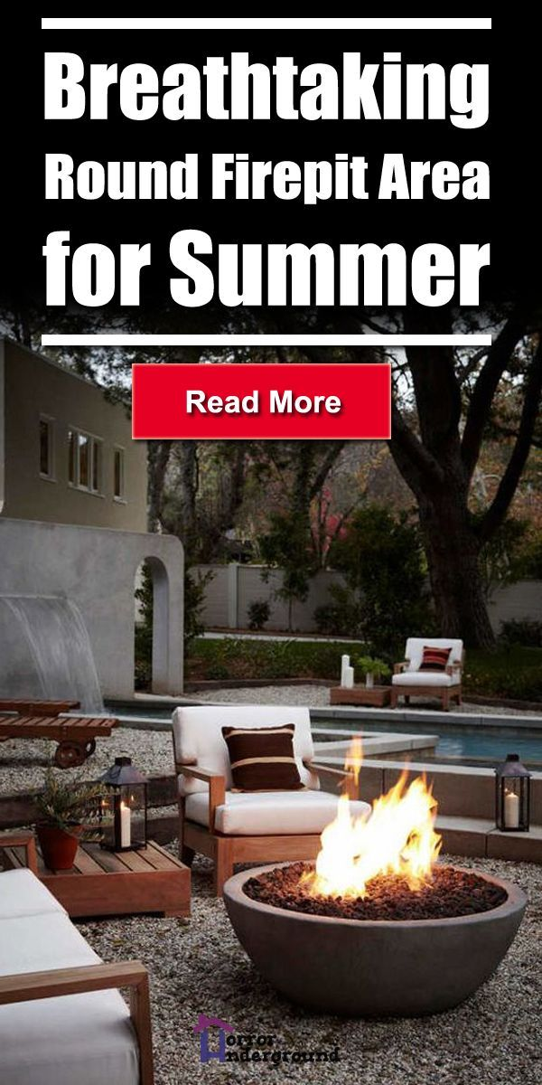Photo of Breathtaking Round Firepit Area Ideas for Summer – Outdoor Diy