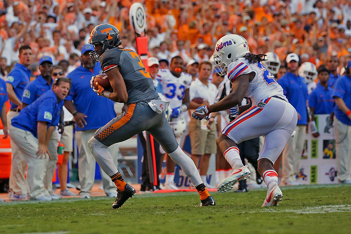 11 Tennessee Volunteers travel to 25 Bulldogs to