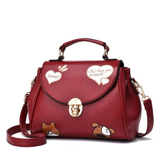 Hot 2017 New Fashion Bag Women Shoulder Messenger Las Handbag Luxury Handbags
