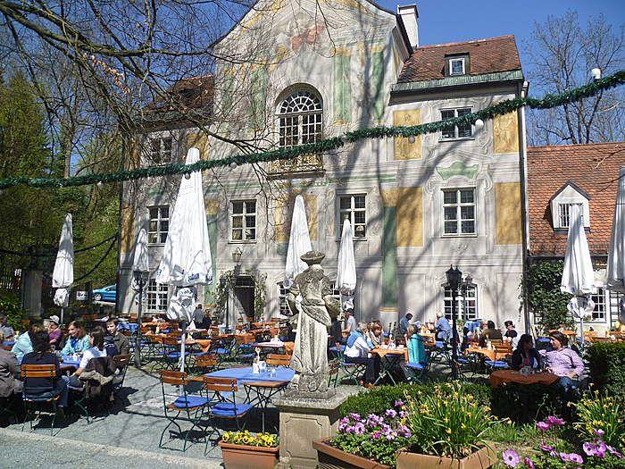 Asam Schlossl Munchen Deutsche Restaurants Restaurant