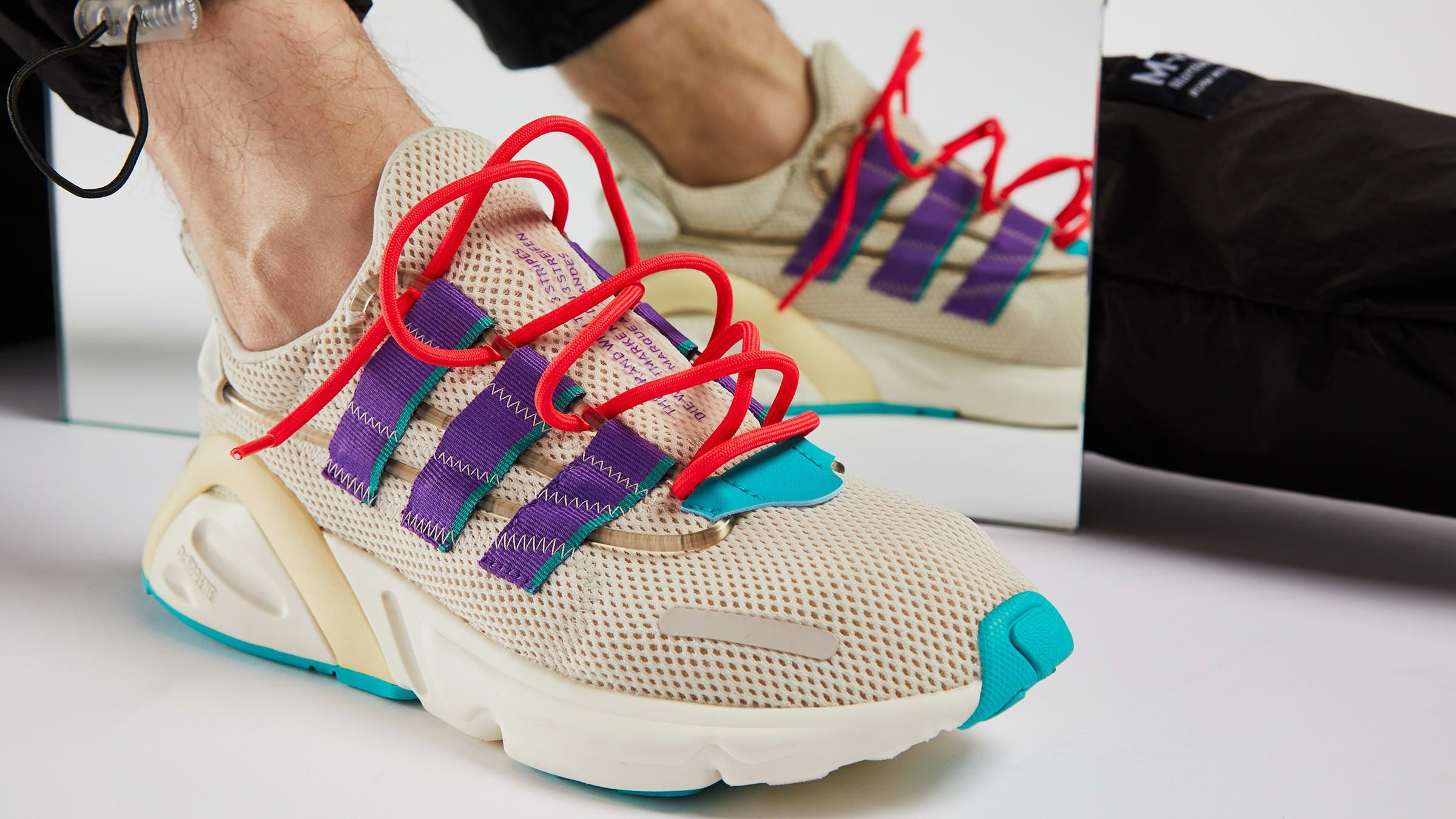 Fashion | Sneakers | Adidas Lxcon Colour: Clear Brown