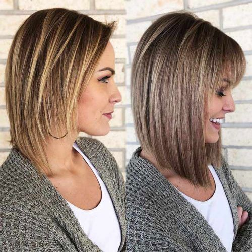 Latest Bob Hairstyles With Bangs In 2020 Bob Hairstyles With Bangs Latest Bob Hairstyles Bob Haircut With Bangs