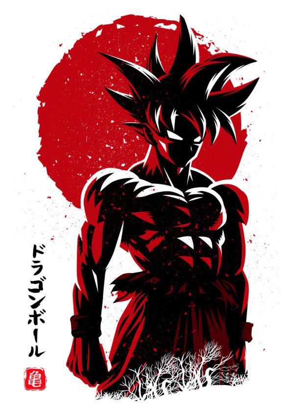 Sun instinct Anime & Manga Poster Print | metal posters
