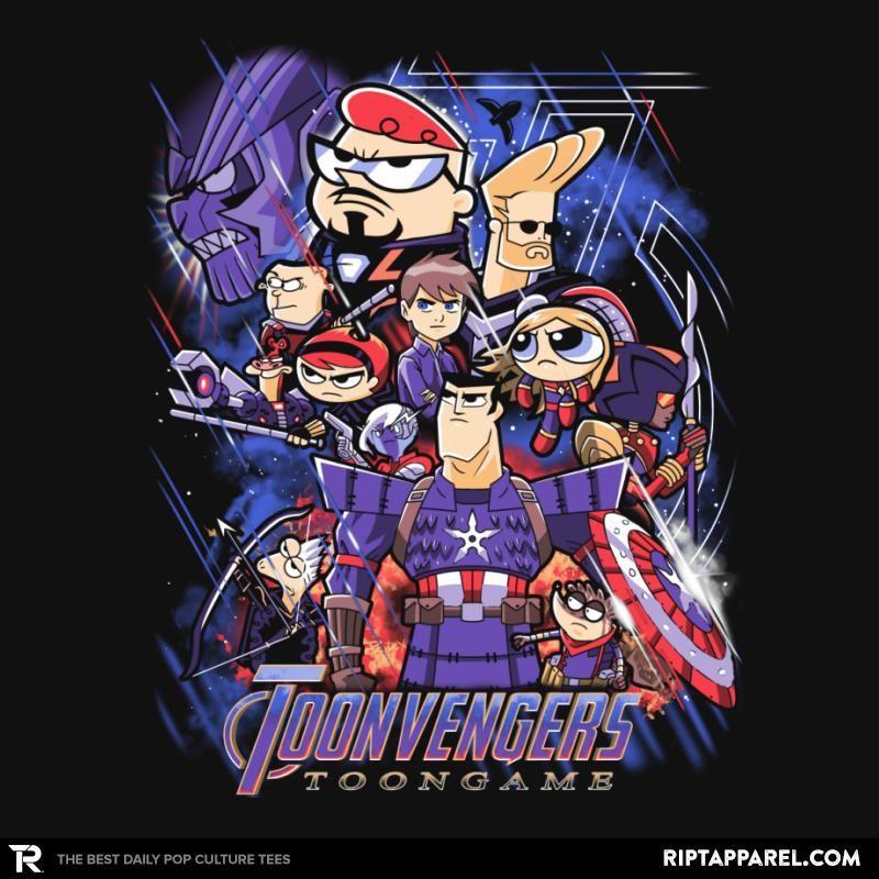 Disney Villains Street Fighter Mash Up Men/'s Black T-Shirt