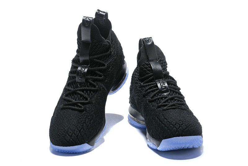 release date 8098a addc3 2018-2019 Cheap Official Cheap LeBron Shoes 2018 Lebron 15 XV Black Blue  Basketball Shoes