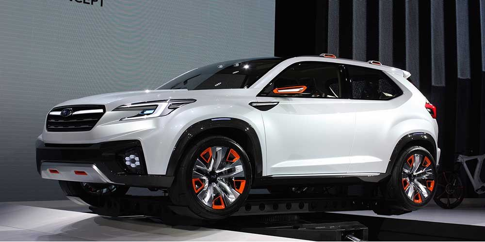 Subaru Ascent 2017 2018 Is A New Name For Tribeca Successor Https Carsintrend Com Subaru Ascent 2017 2018 Subaru Crosstrek Subaru Subaru Wrx
