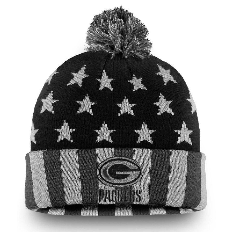 ef2e2380e90 Men s Green Bay Packers NFL Pro Line by Fanatics Branded Black Gray  Americana Stars