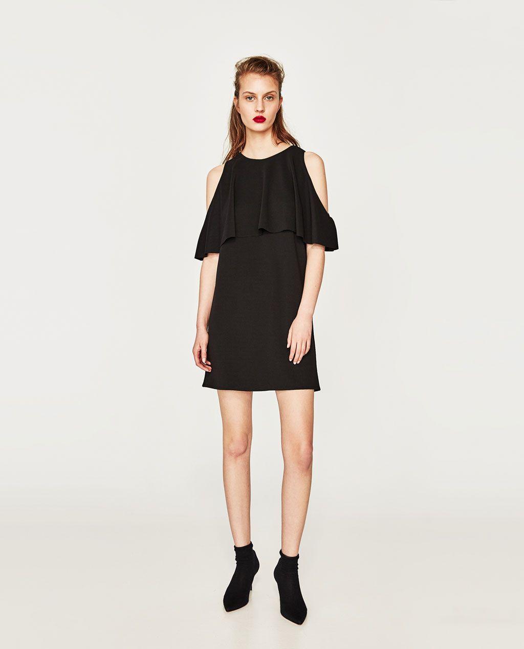 Image 13 of OFF-THE-SHOULDER DRESS from Zara  Kleider