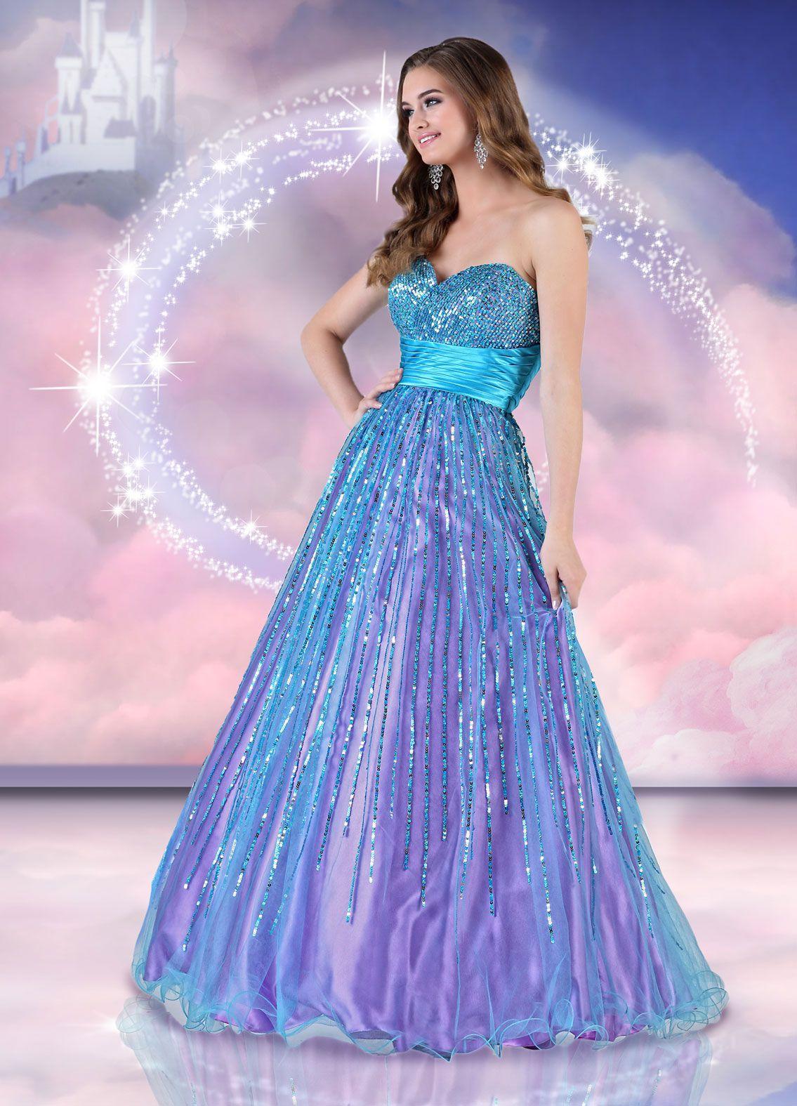 Disney forever enchanted prom dresses 2018 plus